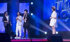 Hari Won bơ vơ vì Trấn Thành bị 'cướp' trên sân khấu