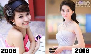 Các tiêu chuẩn sắc đẹp thay đổi thế nào trong 10 năm qua