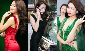 Hoàng Thùy Linh thay 4 bộ quần áo trong 1 ngày