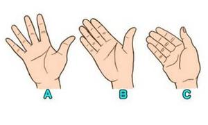 Khoảng cách giữa các ngón tay tiết lộ bạn cởi mở hay khép kín