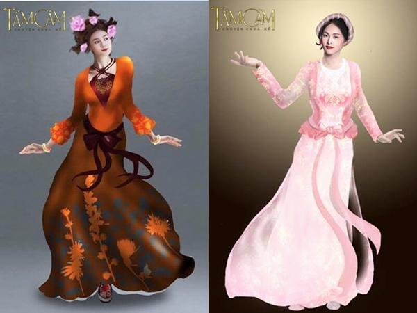 Những tạo hình trang phục cho các nhân vật trong phim