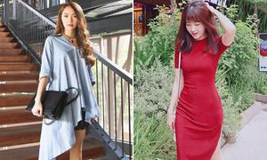Sao style 14/6: Minh Hằng diện 'chăn áo', Kiều Trinh khoe dáng chai Coca
