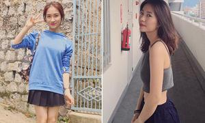 Sao Việt 15/6: Hòa Minzy lộ chân ngắn, Mẫn Tiên người 'siêu mỏng'