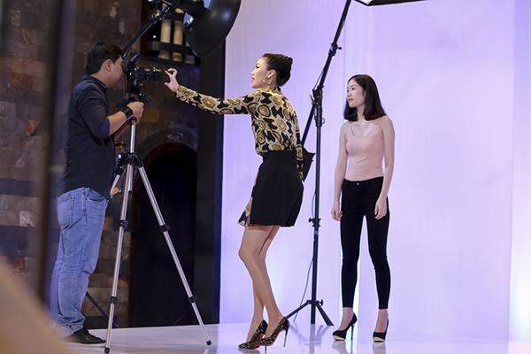 rất bản lĩnh với những hứa hẹn đầy hấp dẫn dành trước 1 thí sinh mà cô ưng ý: Thiên An hãy tưởng tượng đi, một người mẫu với chiều cao dưới 1m7 lần đầu tiên xuất hiện tại sàn catwalk với vai trò là một vedette và thể hiện trước những bức hình TVC và trở thành người mẫu hàng đầu. Lan Khuê có thể làm được điều đó.