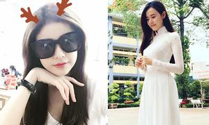 Sao Việt 16/6: Trương Quỳnh Anh 'mọc sừng', Midu mong manh áo dài trắng
