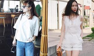 Sao style 17/6: Yến Nhi quần khoét lỗ lạ mắt, Linh Rin mặc đồ ngủ ra phố