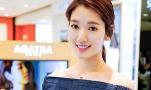 Giảm cân thành công, Park Shin Hye dễ chinh phục nhiều kiểu đồ khó mặc
