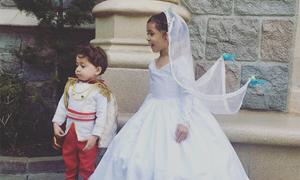 'Ông bố của năm' biến con gái thành công chúa Disney bằng váy áo kỳ ảo