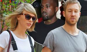 Calvin Harris sáng tác nhạc chia tay, hợp tác với kẻ thù của Taylor Swift