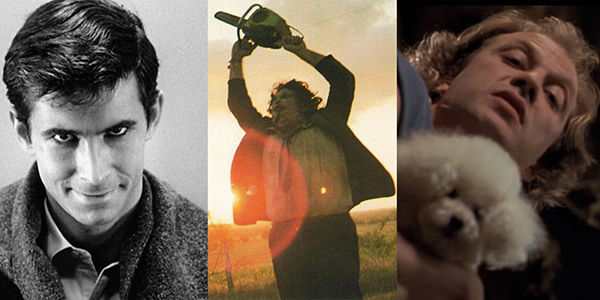 Cả 3 bộ phim thuộc hàng kinh điển này đều được lấy cảm hứng từ một kẻ giết người bệnh hoan có tên làEdward Theodore Gein