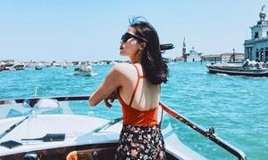 Kỳ nghỉ hè sang chảnh của xì ta, hot girl Việt