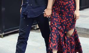 Angelababy mặc váy 'rách có chủ ý'