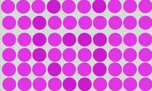 Bạn thấy chữ gì qua các chấm màu?