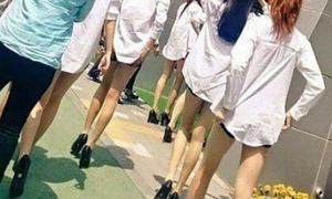 Đôi chân gầy tong teo của các idol nữ Kpop khi chưa qua photoshop