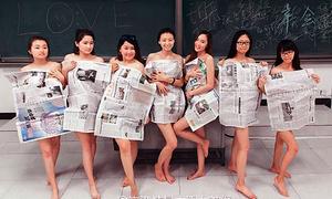 Loạt ảnh tốt nghiệp bị chê lố lăng của SV Trung Quốc