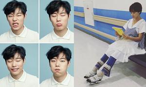 Sao Hàn 3/7: Jung Eum mặc đồ khó bắt chước, 'trai xấu' Ryu Jun Yeol bỗng kute