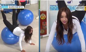 Idol Hàn tiết lộ bài tập cho vòng 3 căng giống Kim Kardashian