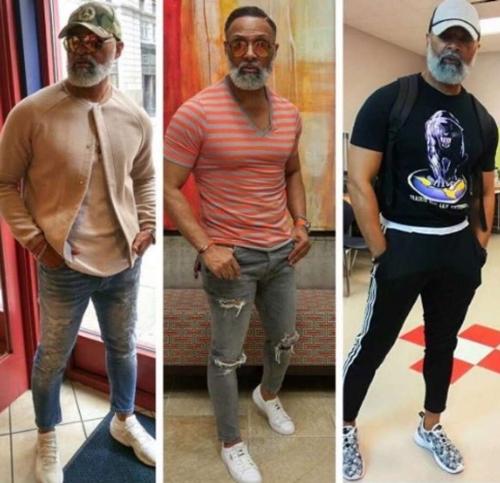 Style thời trang trẻ trung gây sốt của thầy giáo U50.