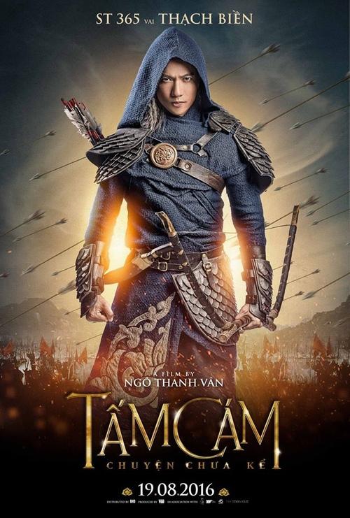 Poster của nhân vật Thạch Biền do S.T 365 thủ vai.