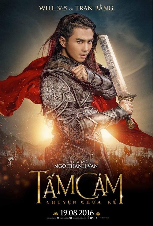 Poster của nhân vật Trần Bằng do Will thủ vai.