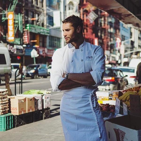 Franco đã có 8 năm làm người mẫu, trong thời gian đó anh cũng đi học nấu ăn   và làm đầu bếp riêng trong một nhà hàng Pháp ở New York.