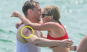 Chiếc áo, hình dán sến súa khiến Tom - Taylor bị nghi giả vờ yêu