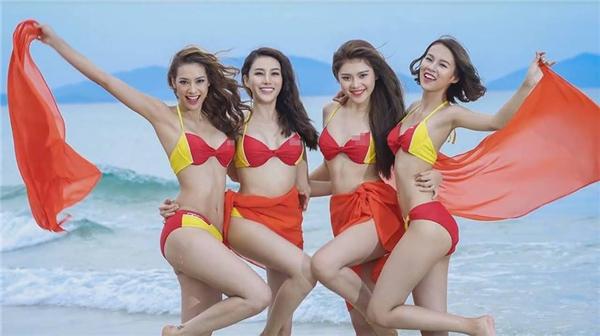 Tại Nha Trang, 3 đội sẽ chụp quảng cáo cho một số thương hiệu danh tiếng trong nước, trong đó có một hãng hàng không. 11 cô gái sẽ cùng diện bikini với hai tông màu đỏ, vàng và thực hiện thử thách trên bờ biển.