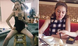 Sao Việt 8/7: Trà Hằng dạng chân phản cảm, Linh Chi bị Ngọc Trinh 'dìm'