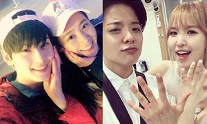 Sao Hàn 9/7: Yuri thân thiết mỹ nam mới nổi, Amber - Wendy như đôi mới cưới