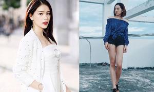 Sao style 11/7: Linh Rin sang chảnh, Emily mặc quần shorts ngắn như nội y