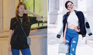 Sao style 12/7: Quỳnh Anh Shyn người lớn, Bảo Thy như teen girl