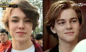 Sự giống nhau kỳ lạ của Vernon Seventeen và Leonardo DiCaprio