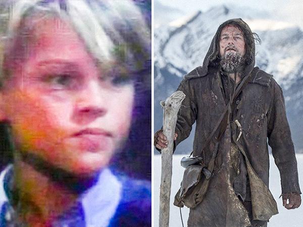 Leonardo DiCaprio cũng là một ngôi sao có sự nghiệp diễn xuất khởi đầu khá sớm.Santa Barbara (1984-1993) vs. The Revenant (2015)