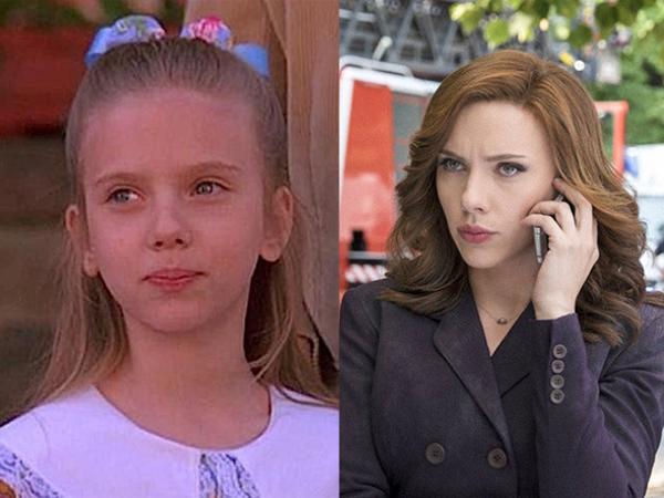 Scarlett Johansson North (1994) vs. Captain America: Civil War (2016)