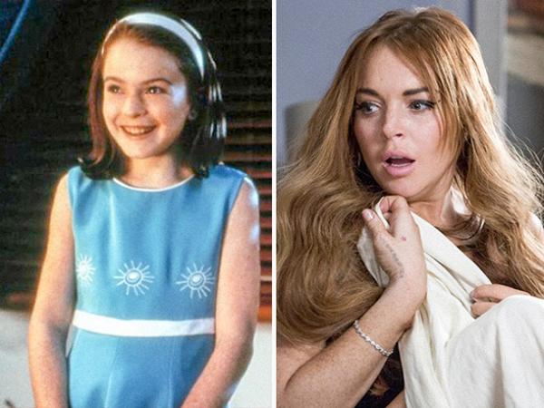 Lindsay LohanLindsay Lohan The Parent Trap (1998) vs. The Canyons (2013)