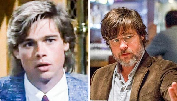 Brad Pitt Dallas (1978-1991) vs. The Big Short (2015)
