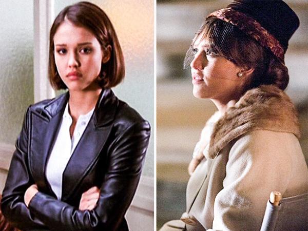 Jessica Alba Beverly Hills, 90210 (1990-2000) vs. Dear Eleanor (2015)