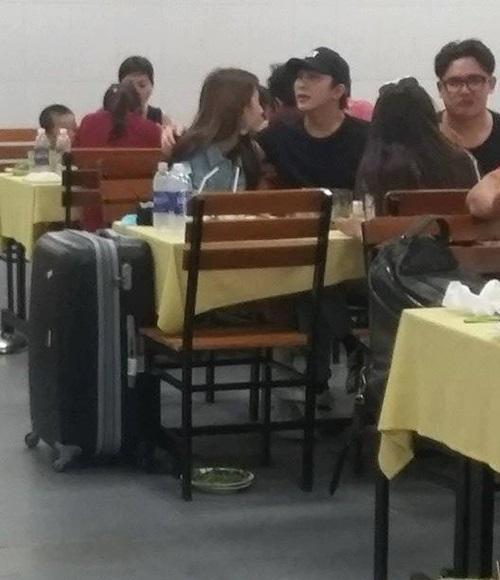 Quỳnh Anh Shyn bị bắt gặp thân thiết với bạn trai cũ trong quán ăn trong khi đang yêu Will (365)