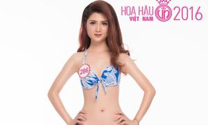'Ngọc Trinh phiên bản Hoa hậu' khoe vòng eo 56cm