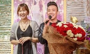 Trấn Thành bị nghi 'dùng lại cho đỡ phí' bó hoa cầu hôn Hari
