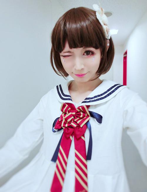 Giống con gái hơn cả con gái, chàng trai giả gái dễ thương nhất là những lời   khen nhiều người dành tặng cho Tani Takuma.