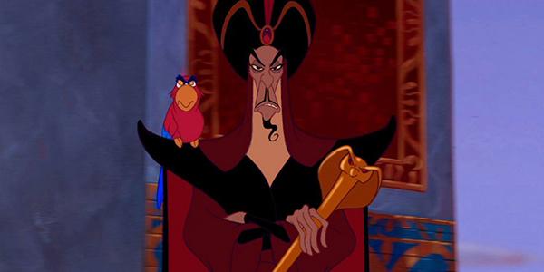 Jafar là cố vấn cho đức vuaAgrabah