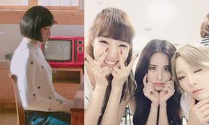 Sao Hàn 18/7: Tae Yeon làm mặt ngầu bên TaeTiSeo, Tae Hyun độn ngực giả gái