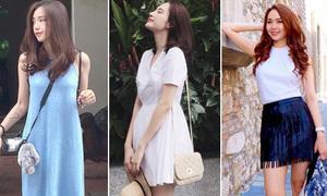 Xì ta, hot girl Việt diện gì ra phố trong tuần nóng 'chảy mỡ'?