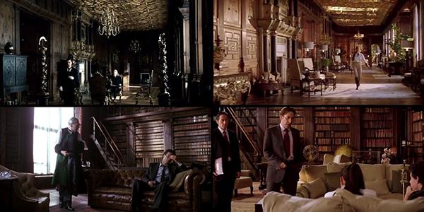 Thiết kế siêu xa hoa đã biếnHatfield House trở thành nhà của nhiều siêu anh hùng, đại gia tỷ phú cực giàu trên phim.