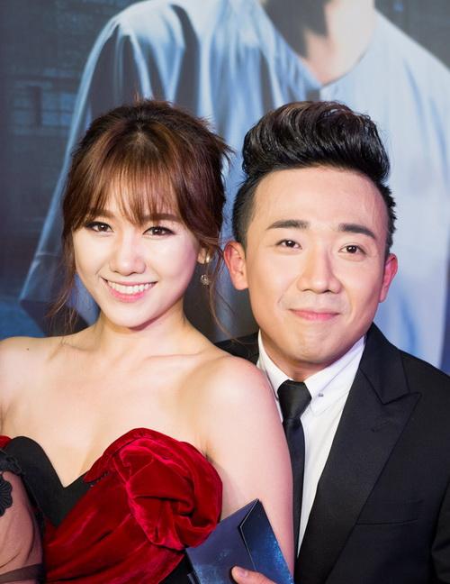 Trấn Thành - Hari Won đang là cặp đôi hot của làng giải trí Việt.