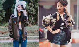 Sao style 20/7: Quỳnh Anh Shyn - Hoàng Thùy Linh lăng xê mốt áo hot nhất năm