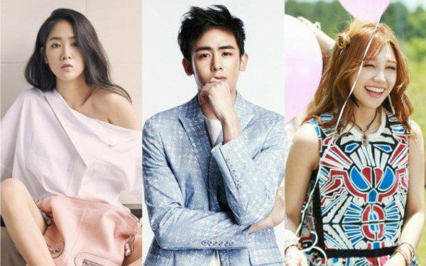 Cả Soyu, Nich Khun và Eun Ji đều có một thói quen vừa dễ thương vừa nguy hiểm đó là thích hôn người khác khi say.