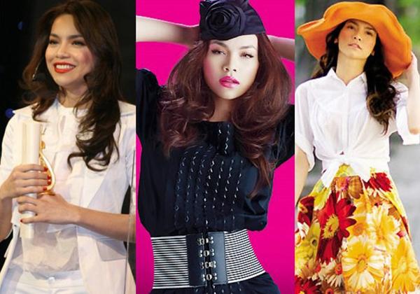 Đến năm 2005, Hà Hồ bước chân vào làng nhạc. Cô thay đổi cách ăn mặc, thời thượng và hợp mốt hơn. Nữ ca sĩ tỏ ra am hiểu về thời trang và luôn xuất hiện đầy cuốn hút trước khán giả. Nhờ vậy, năm 2007 và 2008, Hà Hồ 2 năm liên tiếp giành giải Nghệ sĩ mặc mốt nhất năm của tạp chí Mốt.