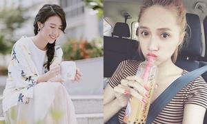 Sao Việt 31/7: Quỳnh Anh Shyn đẹp tựa 'thần tiên tỷ tỷ', Hương Giang uống sữa như con nít